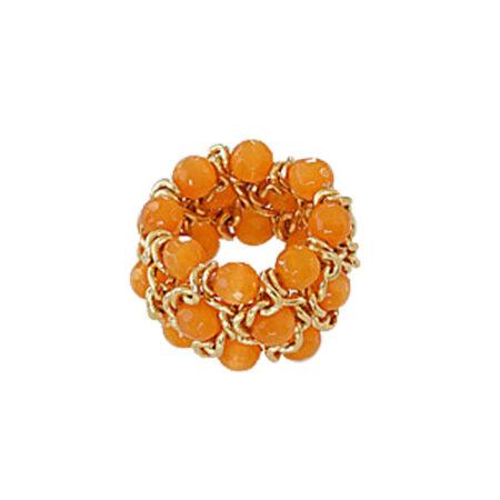 "Ring ""Must"" 20mm. Orangequarz"