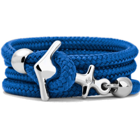 "Armband ""Sail"" Small Bahama Blue."