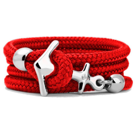 "Armband ""Sail"" Small Lifesaver Red. Segeltau"
