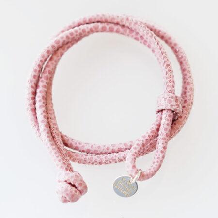 Armband in Soft Nappa Reptil Prägung